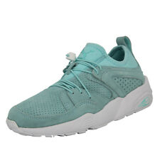 Puma WNS BLAZE OF GLORY SOFT Blau Wildleder Damen Sneakers Schuhe Trinomic Neu