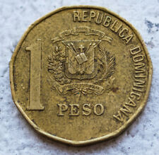 Dominican Republic 1 Peso Coins