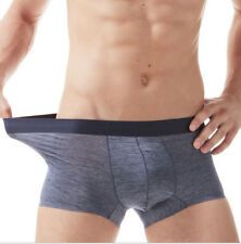 Mens underwear breathable youth boxer low waist large size Cockcon