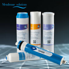5 Stage Reverse Osmosis Drinking Water System RO Home Purifier FILTERS SET Best