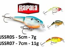 Rapala Jointed Shallow Shad Rap® 5cm - 7cm  7g - 11g Fishing Lure Various Colour