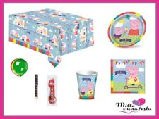 Kit Festa 24 Bambini Peppa Pig Festa Compleanno Bambina Party