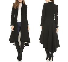 Cappotto Asimmetrico Donna Pronta Consegna Woman Asymmetric  Coat Jacket COAT002