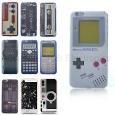 Fundas Carcasas Para Apple iPhone 6S 7 Plus 8 + Goma TPU Silicone Game Boy Case