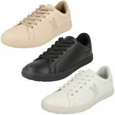 Ladies F7048 Lace Up Casual Shoe By Spot On £21.99