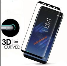 4D Full Curved Tempered Glass Screen Protector for Samsung Galaxy S8, S8 Plus