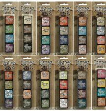 Tim Holtz Mini Distress Ink - Choose from 60 Colours or Mini Ink Kit 1 to 15