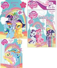 My Little Pony Colouring Book Activity Pad Stickers Kids Girls Creativity Set
