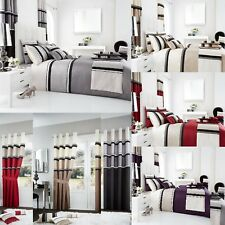 New  Luxury PANAMA Duvet Cover Sets / Fully Lined Curtains/Cushion Covers/ Door