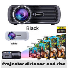 5000 lumens Android WIFI HD 1080P Portable DEL Home Projector USB SD HDMI VGA AV
