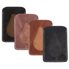 Mens Womens Faux Leather Slim Thin Credit Card Holder Mini Wallet Case Vertical