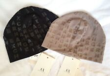 Genuine Armani Exchange Beanie Hat - Black or Taupe - New with tags