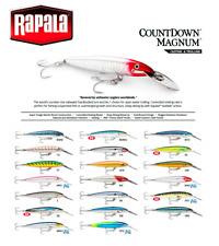 Rapala CountDown® Magnum Fishing Lure Deep Diving 7cm - 14cm  12g - 36g Variuos