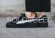 PUMA X FENTY BY RIHANNA CREEPERS BLACK/ WHITE