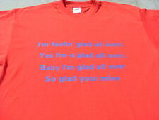 Crystal Palace Anthem Glad All Over T-Shirt or Sweat 4XL 5XL Birthday Gift