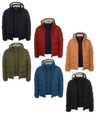 SoulCal Giacca invernale uomo inverno giacca 2 Zip Bubble 9039