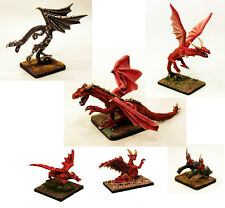 15mm-28mm Multi Scale Dragon Miniatures-Unpainted White Metal-Resin Fantasy