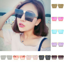 Women Men Retro Square Sunglasses Vintage Designer Outdoor Glasses Eyewear