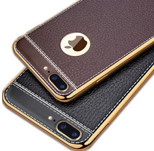 Luxury UltraThin Shockproof Leather Case Cover For Apple iPhone Xs 8 7 Plus 6 5s