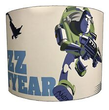 Lampshades Ideal To Match Buzz Lightyear Duvets & Buzz Lightyear Wall Decals.
