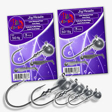 Fishing Jig Heads Hook Size 3/0 Soft Lure LRF Set Sea Tackle Predator Pike Perch