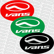 VANS - Oval - Sticker - Skateboard Snowboard BMX Surf - Assorted colours