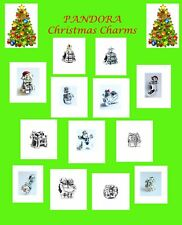 GENUINE PANDORA CHRISTMAS CHARM SELECTION: FREE DELIVERY