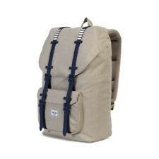 HERSCHEL ZAINO LITTLE AMERICA KHAKI 10014-01571 BEIGE SCHOOL BACKPACK RAGAZZO