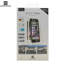"Power Support SCHOTT GLASS Screen Protector for iPhone 6 6s 4.7"" & Plus 5.5"" JE"