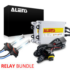 55W HID Headlight Kit /w Relay Harness H1 H3 H4 H7 H11H13 9005 9006 9007 880/881
