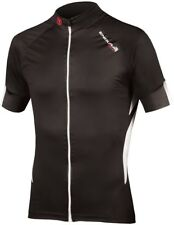Endura FS260 Pro Jetstream Mens Short Sleeve Cycling Jersey Black