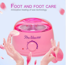 Wax Machine Pink Hair Removal Machine Skin Wax Heater Pot 500ml UK