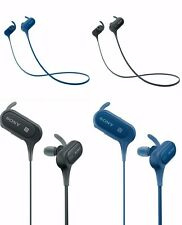 Sony MDR-XB50BSB Extra Bass! Bluetooth In Ear Sports Headphones in Black, Blue