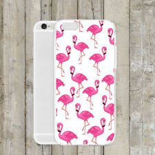 Flamingo Pattern Ultra Slim Rubber Soft TPU Silicone Back Case Cover for iPhoneX