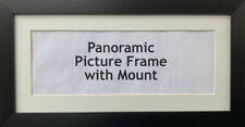 New Panoramic Picture Poster Frames Ivory Mount | Multiple Sizes Photo Framing