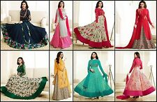 Indian Pakistani Designer Ethnic Anarkali Salwar Kameez Suit Bollywood Dress Z4