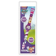 Official Paw Patrol Everest and Skye Purple Digital Watch Kids Wristwatch
