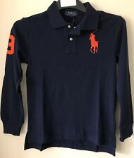 BNWT POLO RALPH LAUREN BOYS/KIDS/CHILDREN LONG SLEEVE BIG PONY POLO SHIRT/TOP