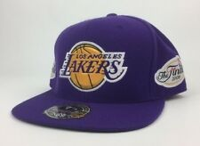 Los Angeles Lakers Back-to-Back NBA CHAMPS 09/10 NESS CAPPELLO SU MISURA