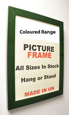 Large Green Picture Photo Frame 30 mm wide | All Sizes Picture Photo Framing