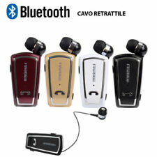 AURICULARES BLUETOOTH RETRÁCTIL FINEBLUE F-V3 NEGRO WIRELESS HD RADIO 10MT 30 CM