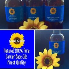 Natural 100% Pure Carrier Base Oils - 100 ml - Choice of Oils - Finest Quality