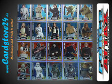 STAR WARS FORCE ATTAX Película Cartas Serie 1 Individualmente a elegir -