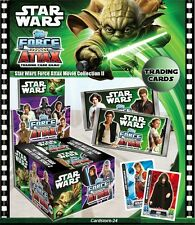STAR WARS FORCE ATTAX - Película Cartas Serie 2 - Star CARTAS 193-212 - NUEVO