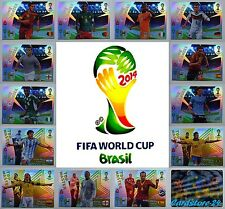 Panini Adrenalyn XL # FIFA World Cup 2014 #Brasil - All Cards Selection
