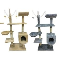 Cat Tree Scratching Post Activity Centre Bed Toys Scratcher New with Cat Nip