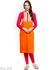 Women dress/ Printed kurtis/ladies kurtis/causal dress/orange kurtis/kurti dress