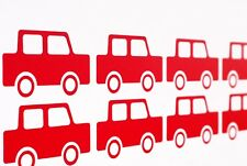 Fun Toy Cars Vinyl Wall Art Decals/Stickers - Various Colours & Sizes
