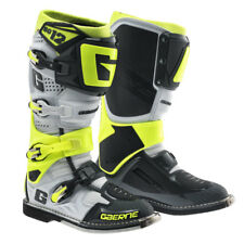 STIVALI MOTOCROSS ENDURO, STIVALE GAERNE SG12 WHITE-YELLOW-GREY