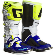 STIVALI MOTOCROSS ENDURO, STIVALE GAERNE SG12 BLUE-WHITE-YELLOW